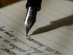 תהליך הכתיבה של המשורר